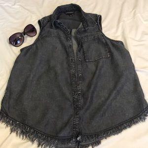 Rock & Republic sleeveless shirt